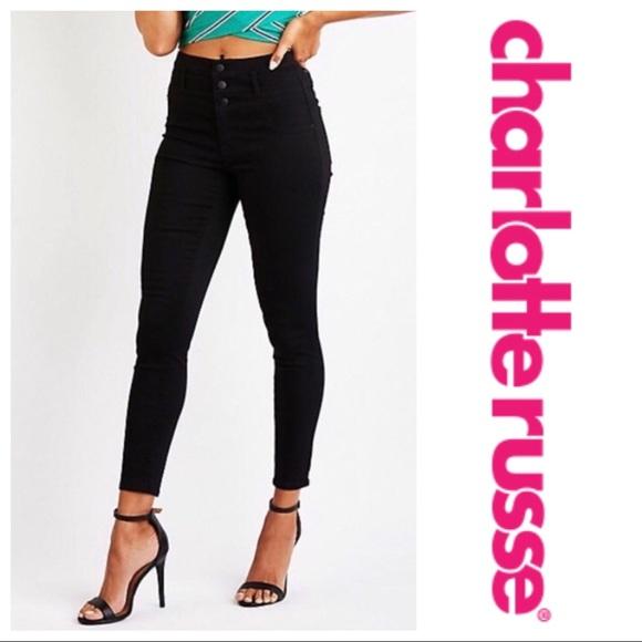 4727d2611d70 Charlotte Russe Denim - Refuge High Waisted Skinny Jeans Size 4 - A03
